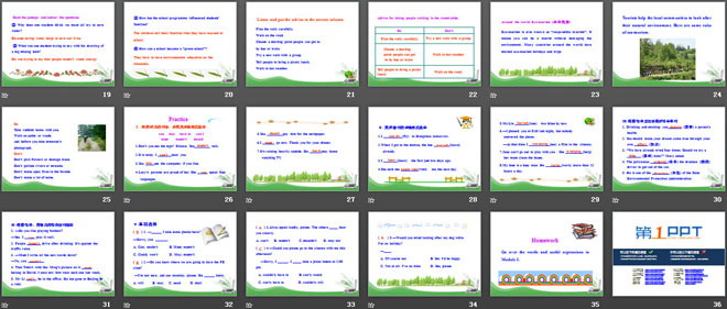《language in use》rules and suggestions ppt课件