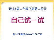 《自己试一试》PPT课件4