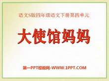 《大使馆妈妈》PPT课件2