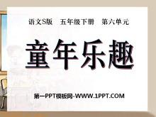 《童年乐趣》PPT课件2