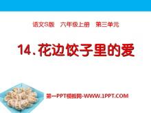 《花边饺子里的爱》PPT课件3
