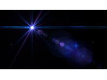 蓝色星光动态PPT背景图片