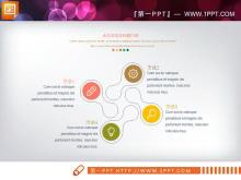 彩色小清新论文答辩PPT图表