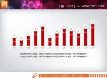 红色微立体动态工作总结PPT图表下载