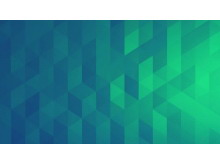 绿色多边形幻灯片背景图片