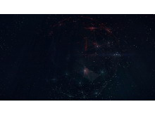 唯美星空宇宙PPT背景图片