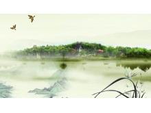 动态古典中国风PPT背景图片