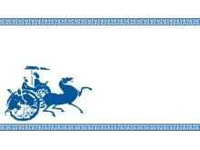 中国古代历史图案的古典PPT背景图片