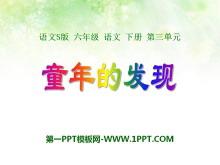 《童年的发现》PPT课件12