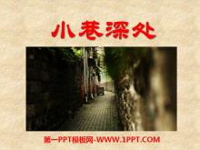 《小巷深处》PPT课件2