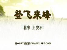 《登飞来峰》PPT课件2