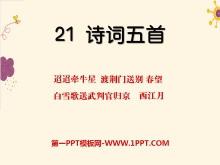 《诗词五首》PPT课件2