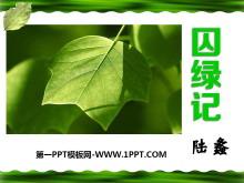 《囚绿记》PPT课件7