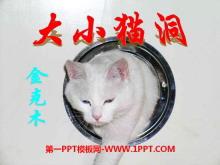 《大小猫洞》PPT课件