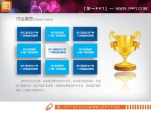 微立体企业宣传PPT图表大全