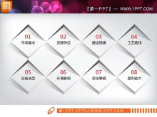 红黑微立体商业融资计划书PPT图表大全