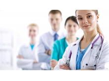 6张医疗医生PPT背景图片