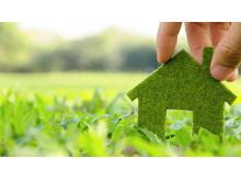 绿色环保低碳出行PPT背景图片