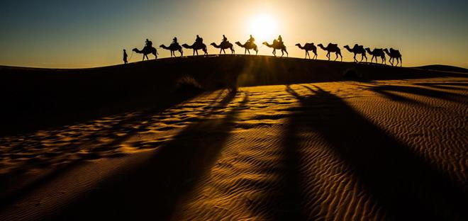 古代丝绸之路PPT背景图片