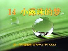 《小露珠的梦》PPT课件2