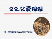 《父爱深深》PPT课件2