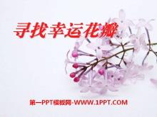 《寻找幸运花瓣》PPT课件6