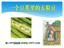 《一��豆�v里的五粒豆》PPT�n件3