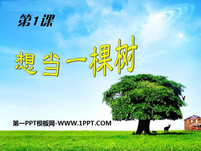 《想当一棵树》PPT课件