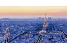 4张现代化城市背景PPT背景图片