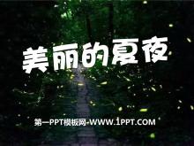 《美丽的夏夜》PPT课件