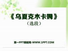 《乌夏克木卡姆》PPT课件2
