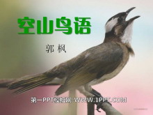 《空山鸟语》PPT课件5