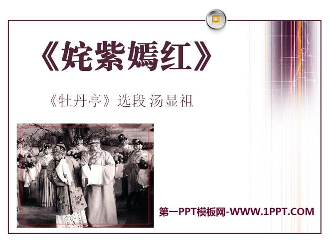 《姹紫嫣红》PPT课件3