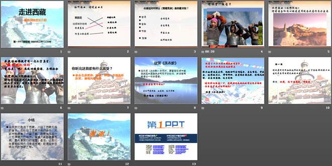 《走进西藏》PPT课件4