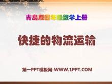 《快捷的物流运输》PPT课件2