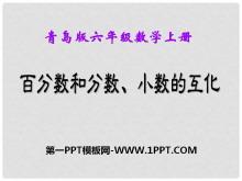 《百分数和分数、小数的互化》PPT课件4