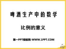 《啤酒生产中的数学》PPT课件5