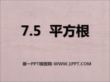 《平方根》PPT课件2