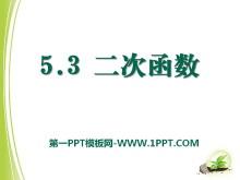 《二次函数》PPT课件2