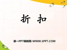 《折扣》百分数的应用PPT课件