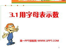 《用字母表示数》PPT课件5