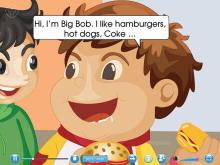 《I like hamburgers》Flash动画课件6