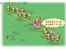 《有多少只小鸡》20以内的加法Flash动画课件