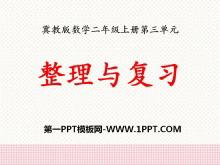 《整理与复习》表内乘法PPT课件