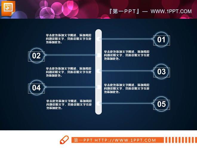 白色透明商务汇报PPT图表大全