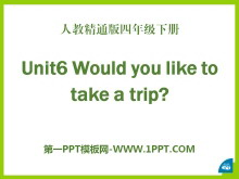 《Would you like to take a trip?》PPT课件5