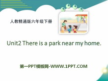 《There is a park near my home》PPT课件5