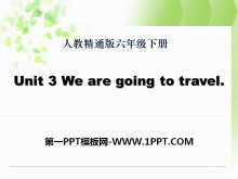 《We are going to travel》PPT课件4