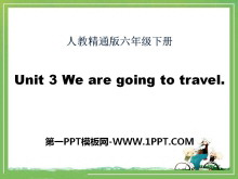 《We are going to travel》PPT课件5