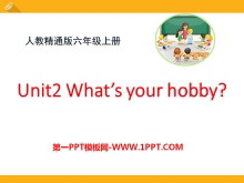 《What's your hobby?》PPT课件3
